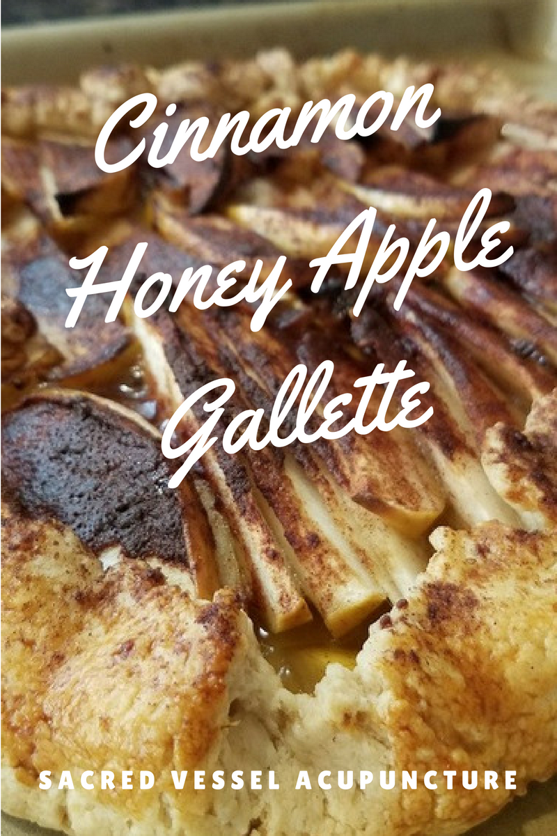 Cinnamon Honey Apple Gallette